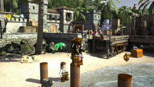 LEGO® Pirates of the Caribbean: The Video Game Screenshot 12