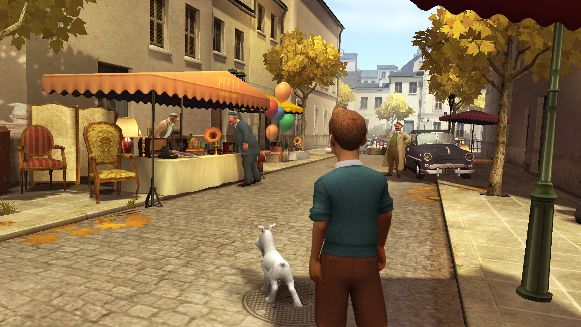 the adventures of tintin™: the game game | ps3 - playstation