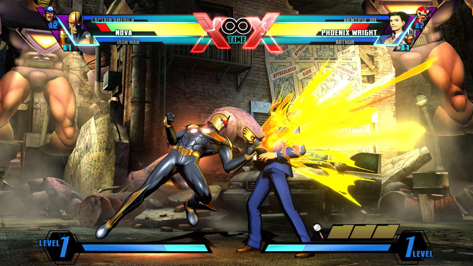 Ultimate Marvel vs  Capcom®3 Game | PS3 - PlayStation