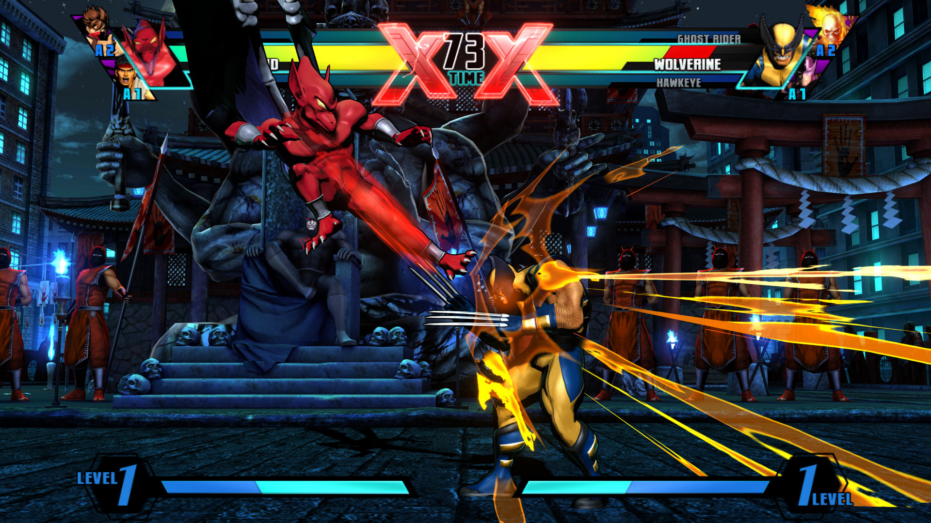 Ultimate Marvel vs. Capcom 3 on PlayStation 4 Impressions