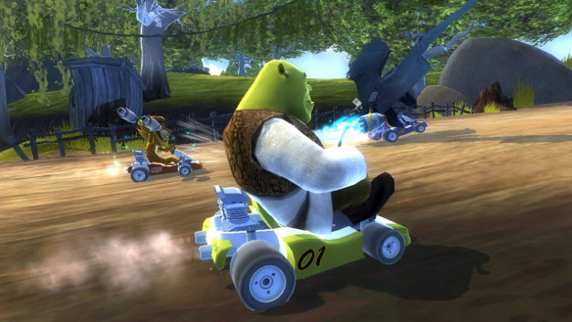 DreamWorks® Super Star Kartz™ Screenshot 4
