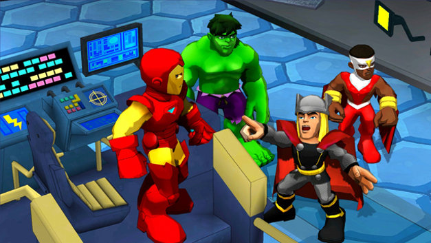 Marvel Super Hero Squad: Comic Combat Screenshot 1