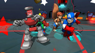 Marvel Super Hero Squad: Comic Combat Screenshot 2