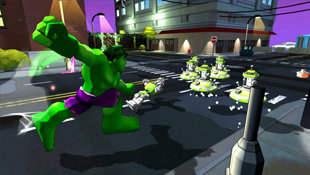Marvel Super Hero Squad: Comic Combat Screenshot 3