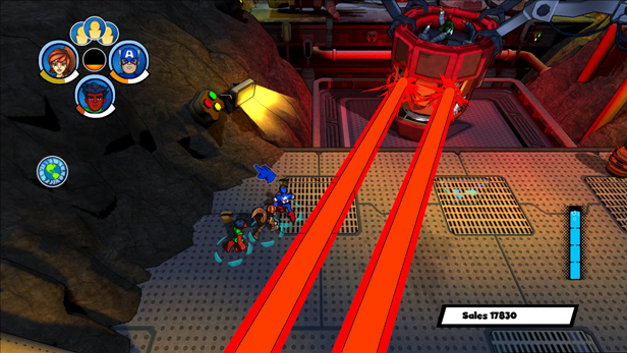 Marvel Super Hero Squad: Comic Combat Screenshot 4