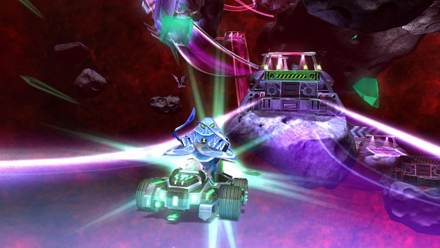 BEN 10™ GALACTIC RACING Screenshot 1