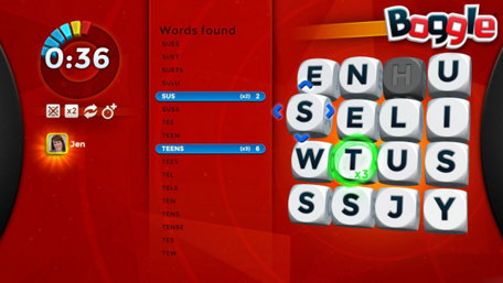 Boggle Trailer Screenshot