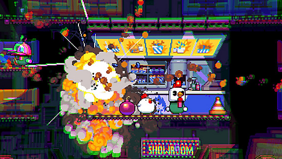 Bomb Chicken - Screenshot INDEX