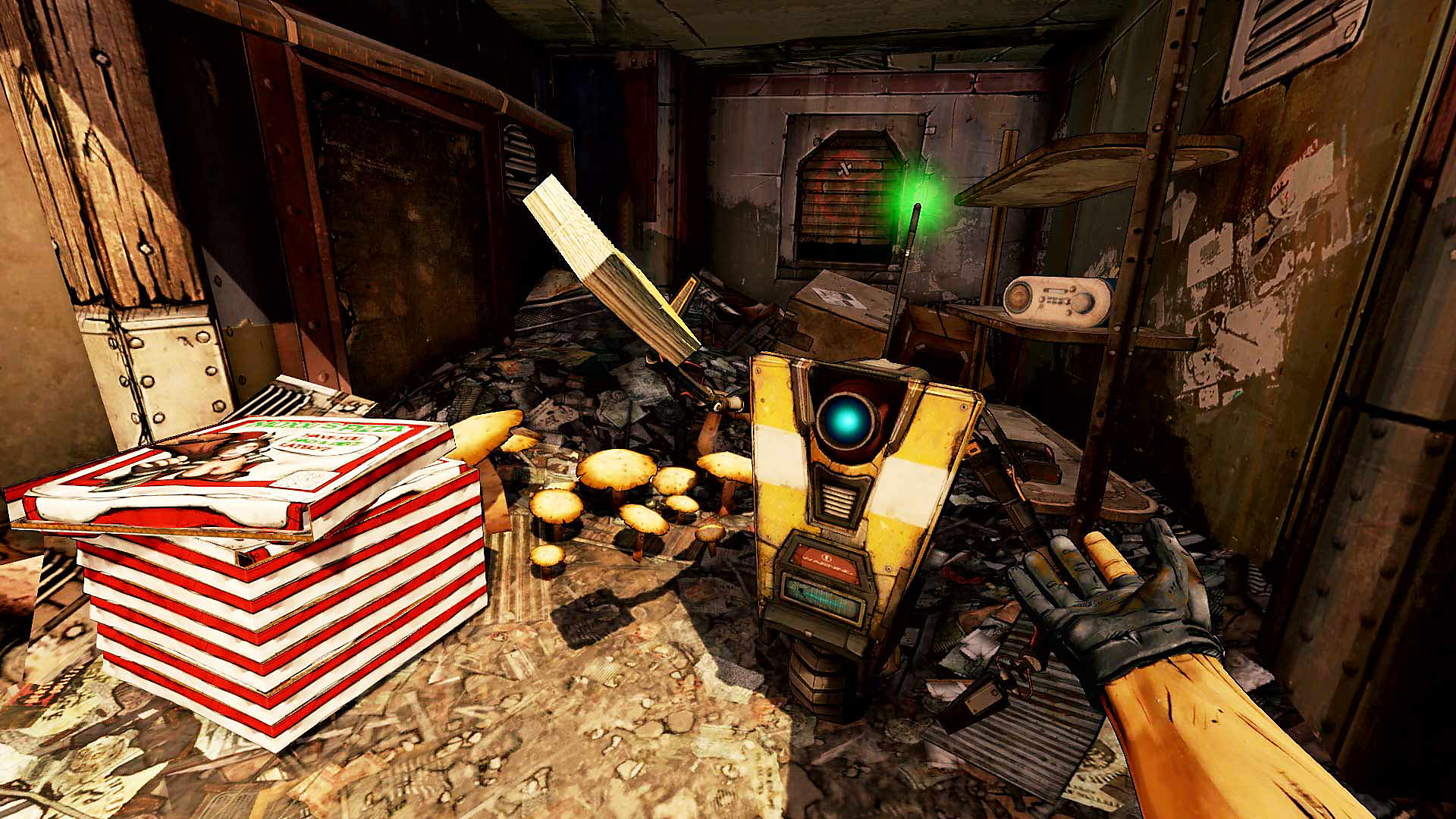 Borderlands 2 VR - Claptrap Game Overview Banner