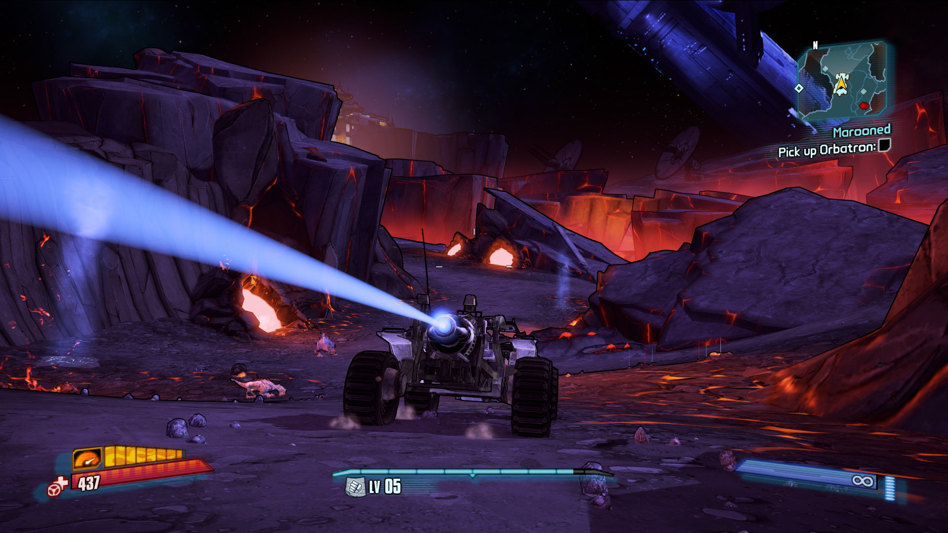 Borderlands The Pre Sequel vehicle