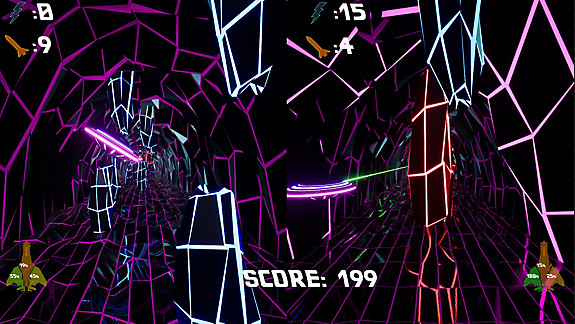 Brain in Retro Space with VS Mode - Screenshot INDEX