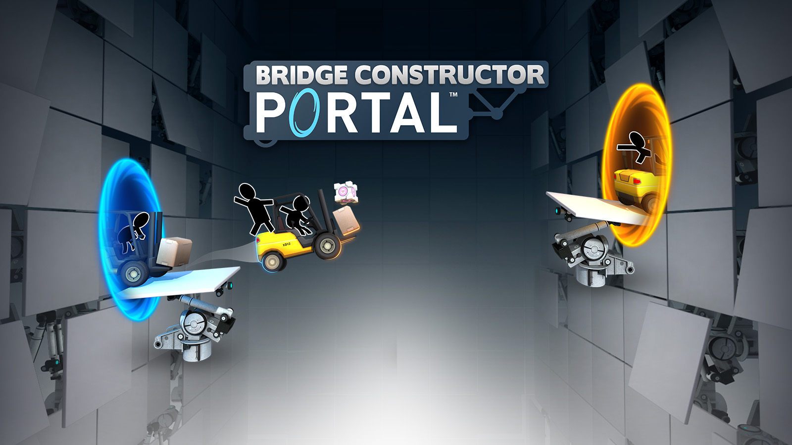 Bridge Constructor Portal Game Ps4 Playstation