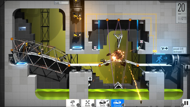 Bridge Constructor Portal Screenshot 4