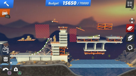 Bridge Constructor Stunts Trailer Screenshot