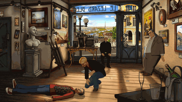 Broken Sword 5 The Serpent's Curse Screenshot 1