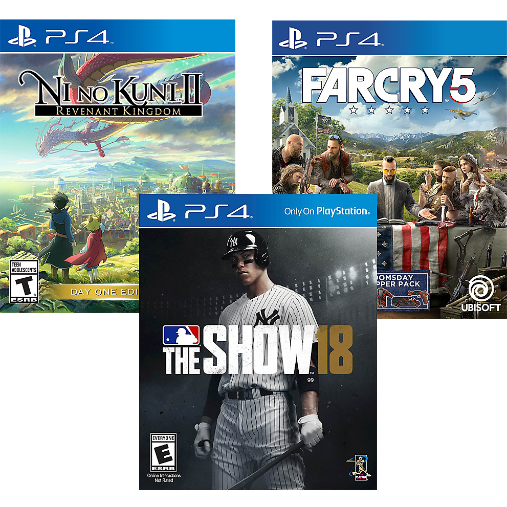 Latest PlayStation Games Box Art
