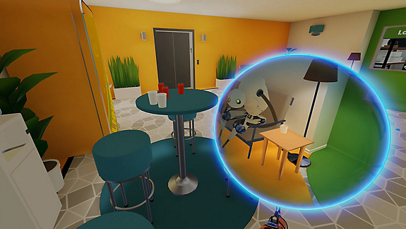 Budget Cuts VR - Screenshot INDEX