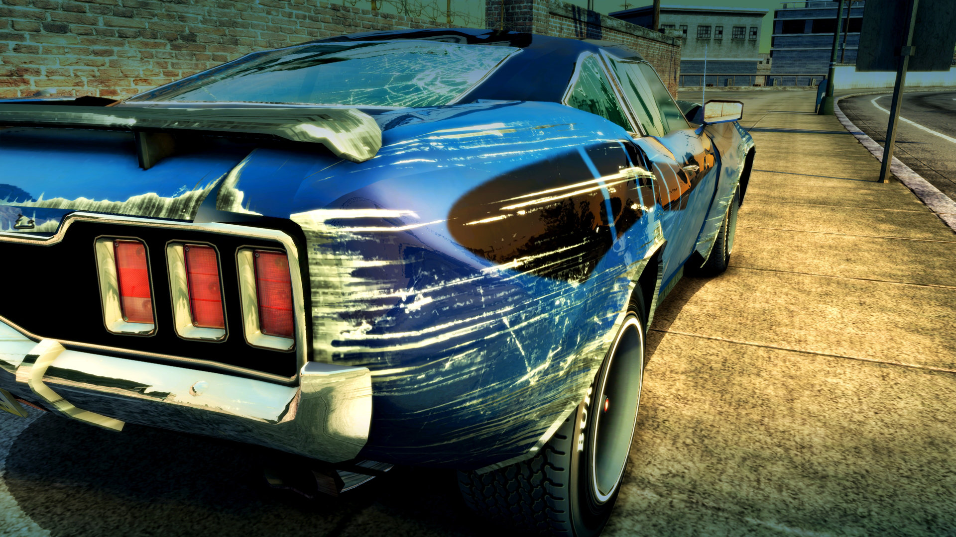 Burnout Paradise Remastered Game   PS4 - PlayStation