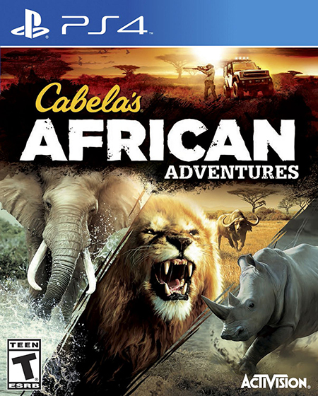 Hunting Games For Xbox 1 : Cabela s african adventures game ps playstation