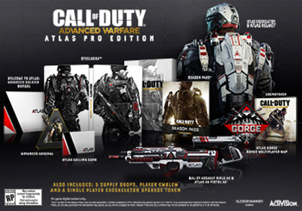 call of duty advanced warfare player count ps4