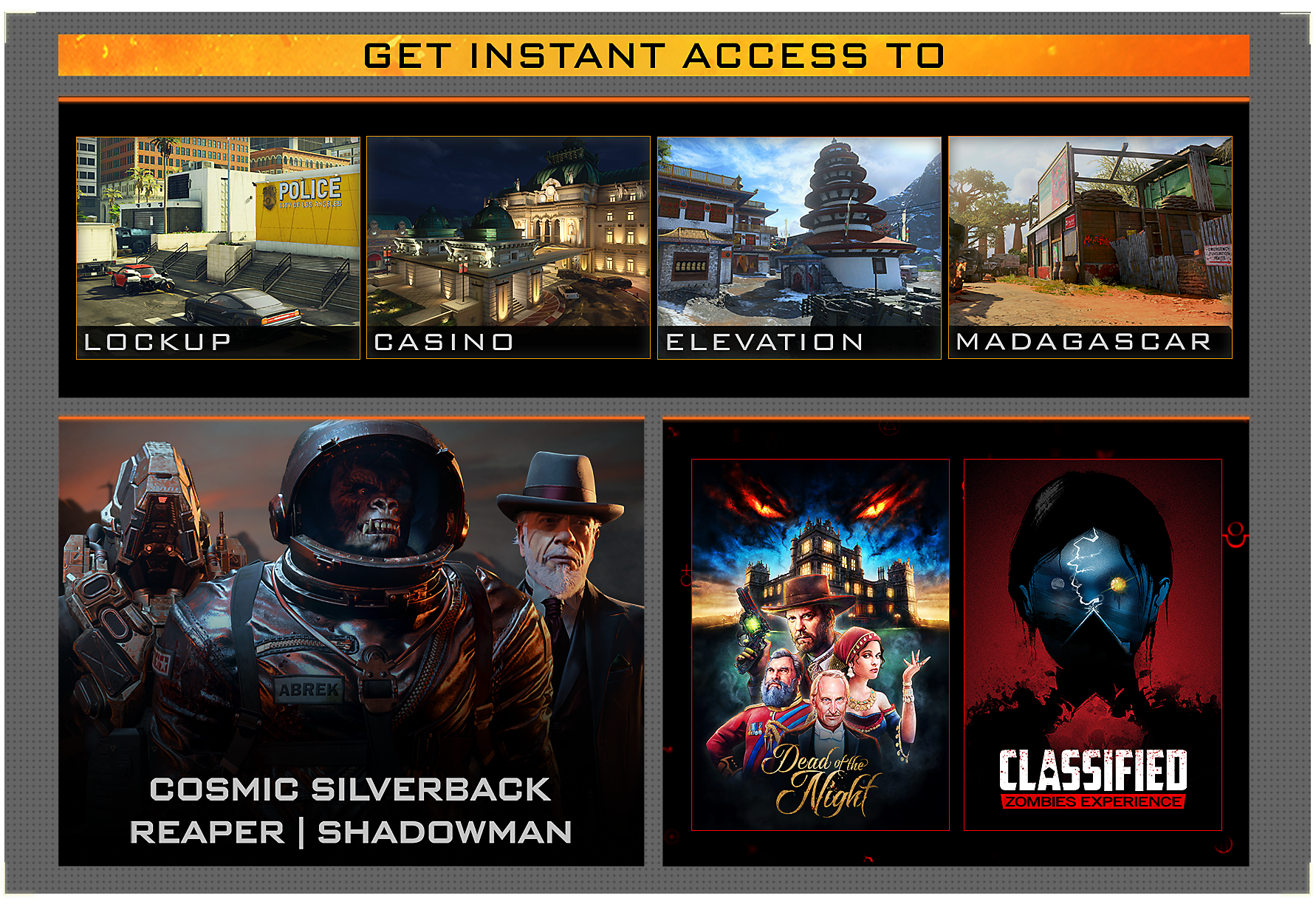 Call of Duty: Black Ops 4 - Black Ops Pass Contents
