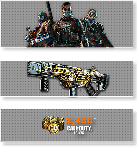 Call of Duty Black Ops 4 - Digital Deluxe Edition - Special Items