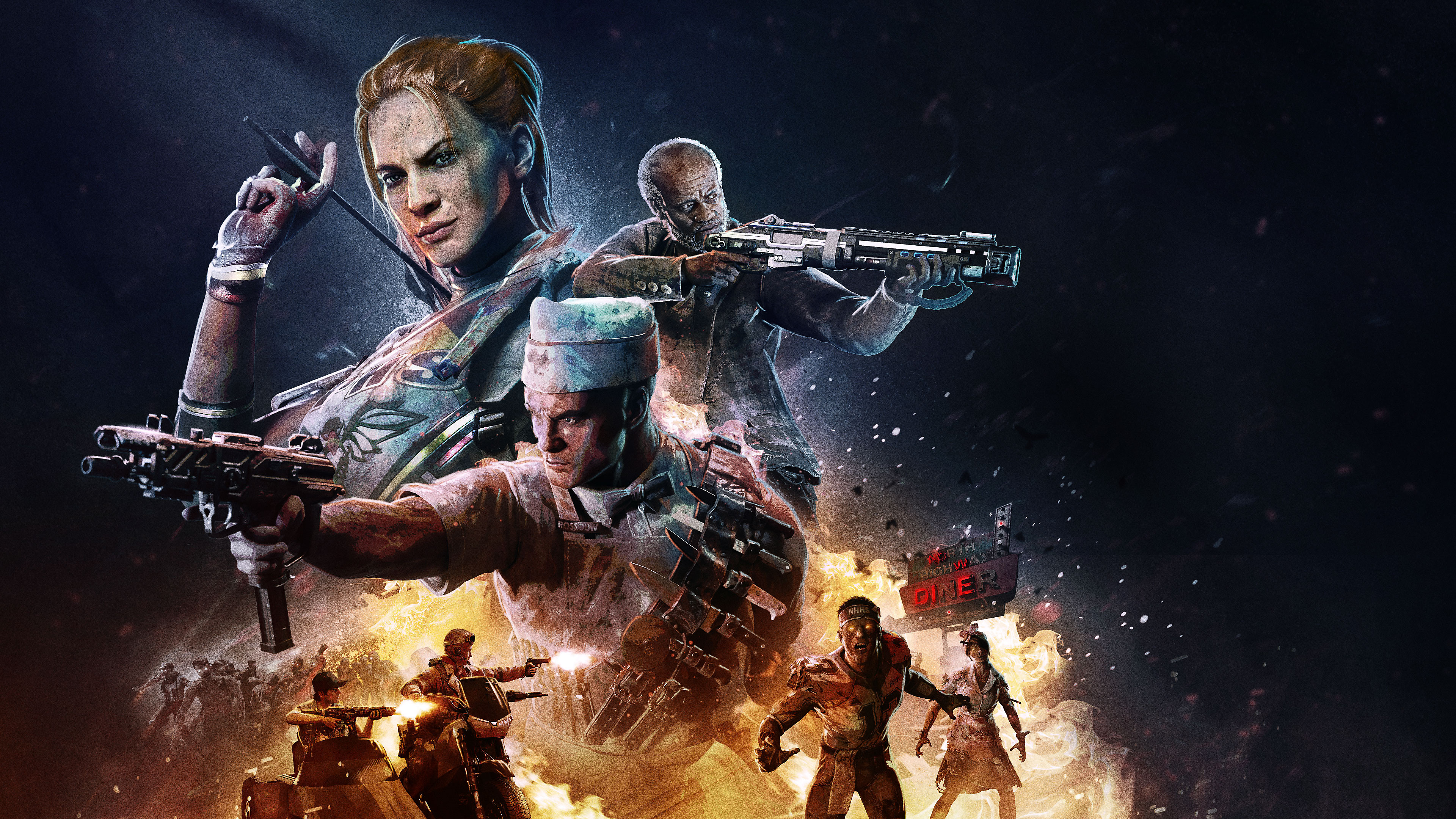 Call of Duty Black Ops 4 - Operation Apocalypse Z Key Art