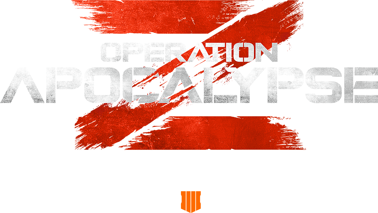 Call of Duty Black Ops 4 - Operation Apocalypse Z  Logo