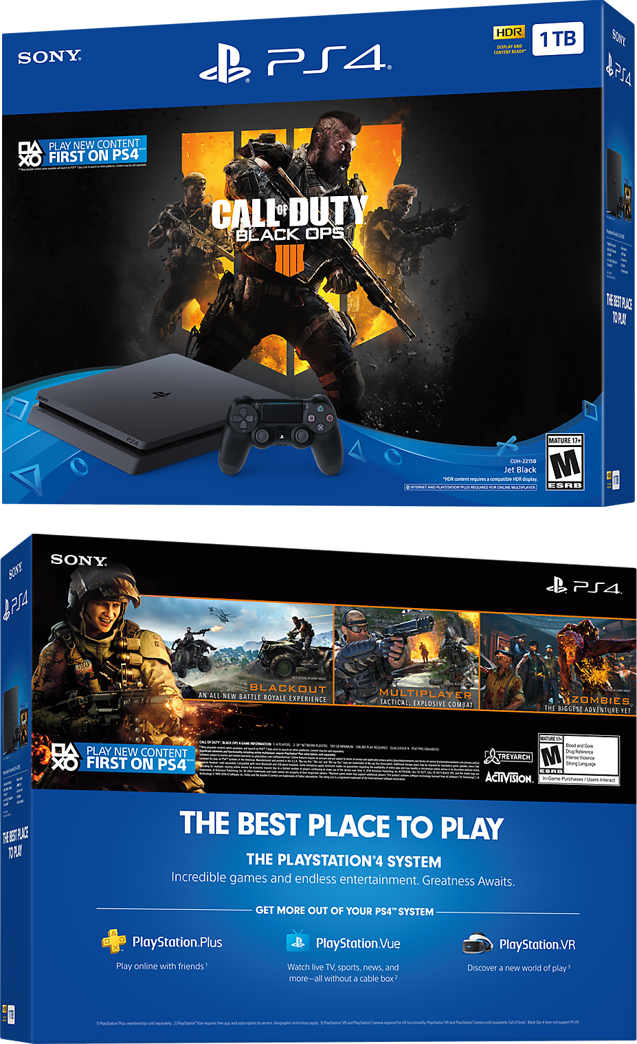 Call of Duty: Black Ops 4 PlayStation 4 Bundle Box Shots
