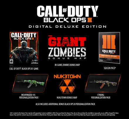 call of duty black ops iii zombies chronicles edition - playstation 4
