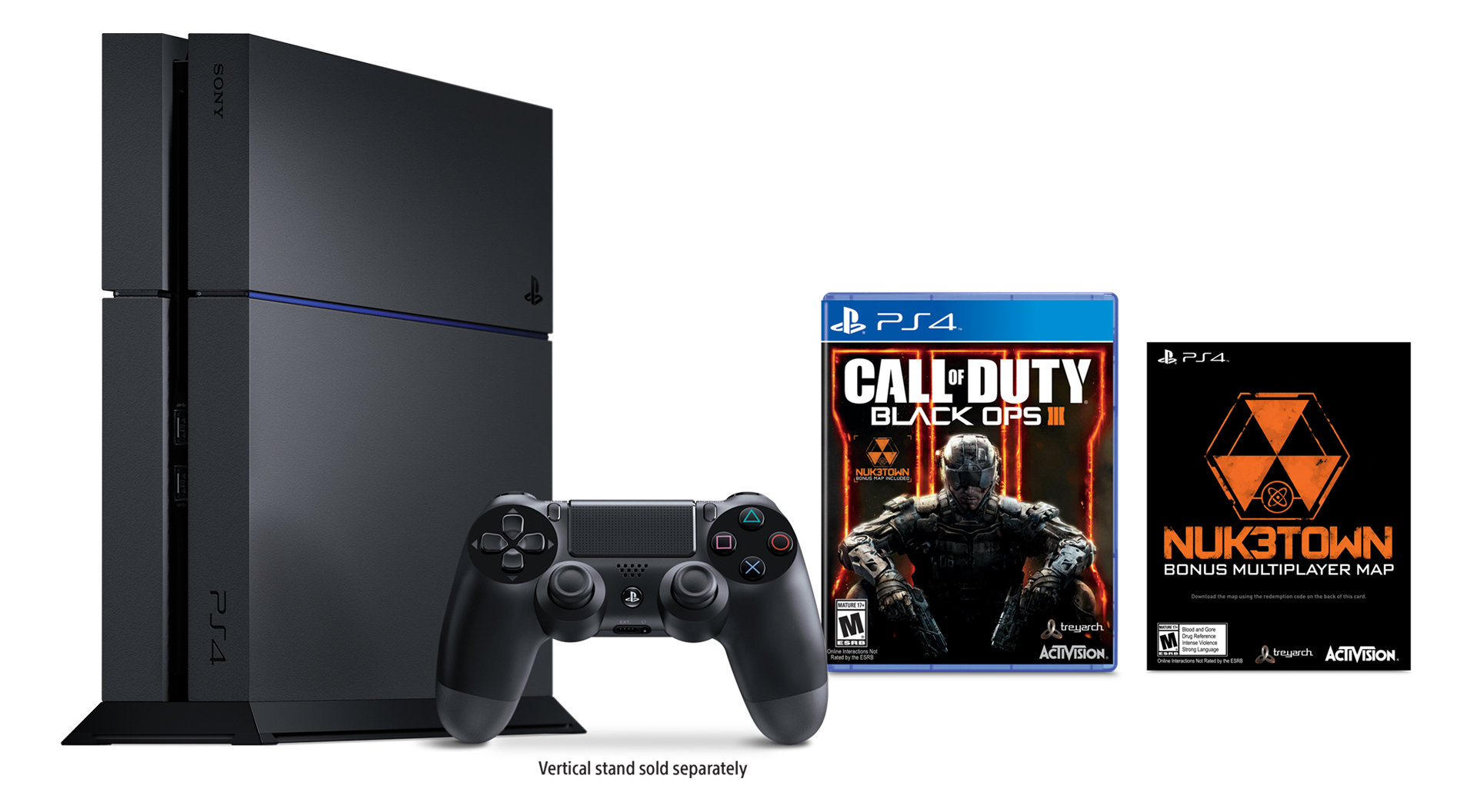 Call Of Duty Black Ops Iii Ps4 Bundle Playstation