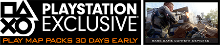 PlayStation Exclusive - Play Map Packs 30 Days Early