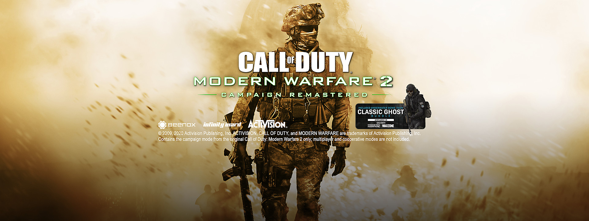 Call of Duty: Modern Warfare 2 Campaign Remastered  - Now Available