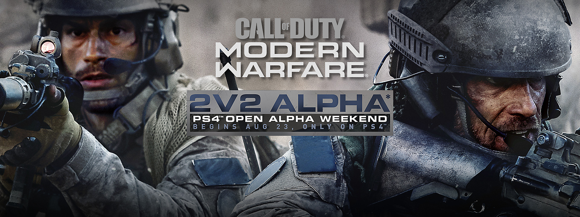 Call of Duty: Modern Warfare - PlayStation-Exclusive 2v2 Alpha Available August 24