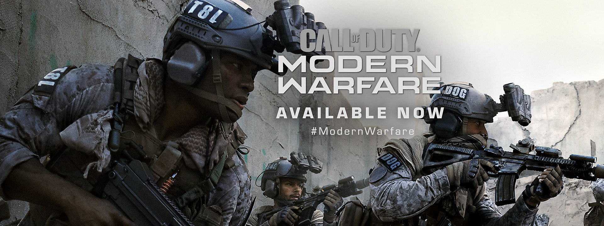 Call of Duty: Modern Warfare - Available Now