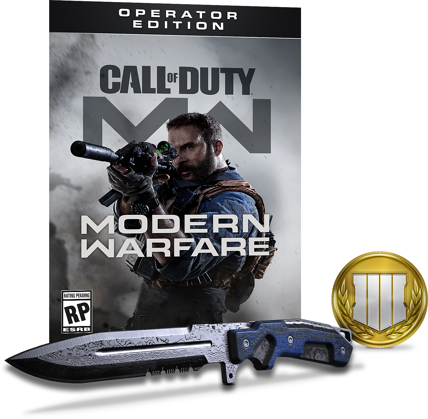 Call of Duty Modern Warfare Operator Edition Digital Items