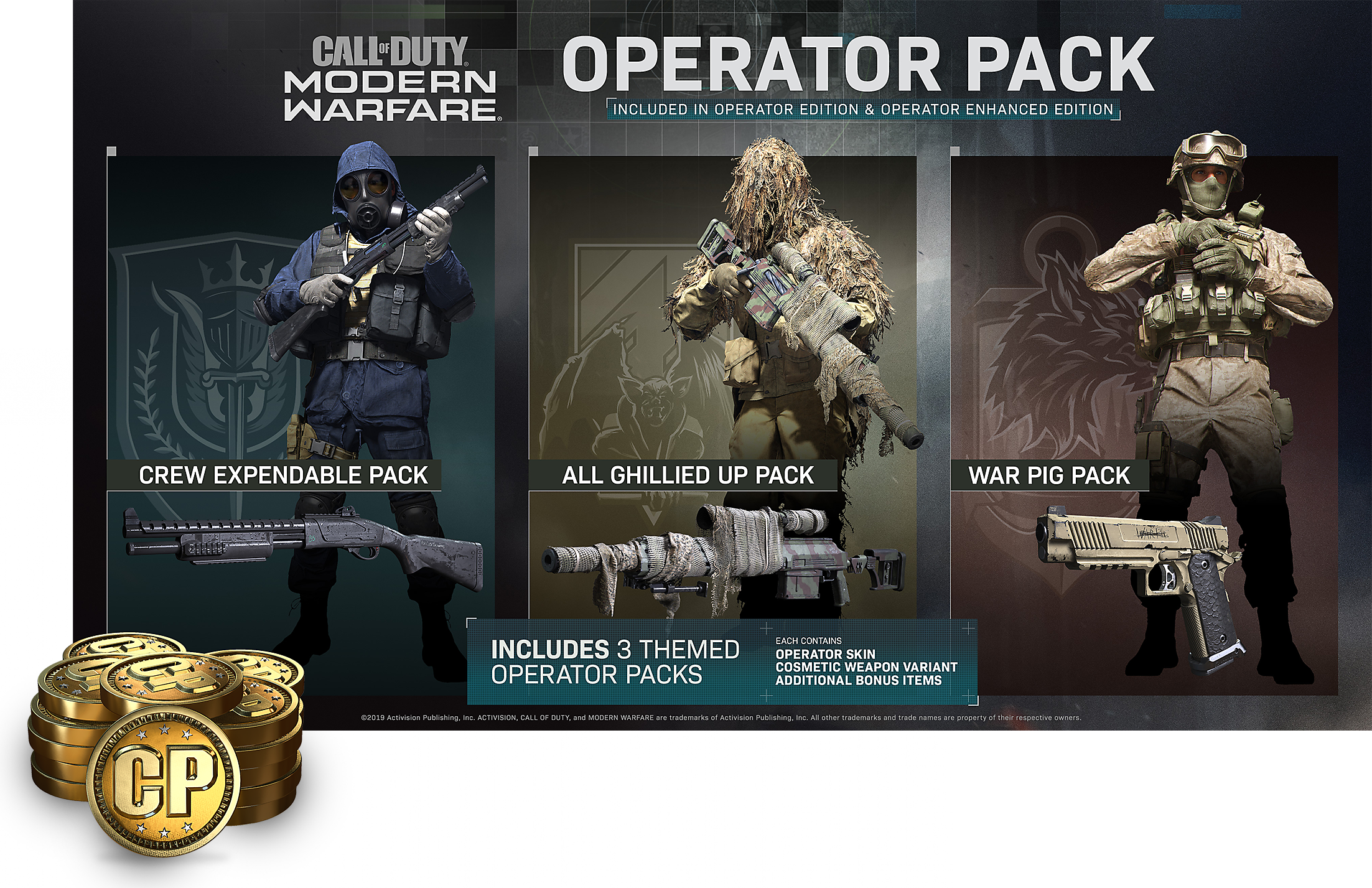 Call of Duty Modern Warfare Enhanced Edition Operator Pack