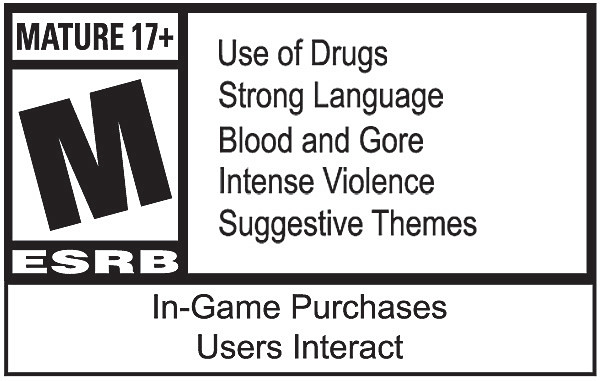 Call of Duty: Modern Warfare ESRB Rating