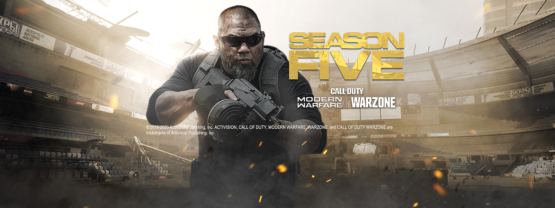 Call of Duty: Modern Warfare - Season Five Now Available