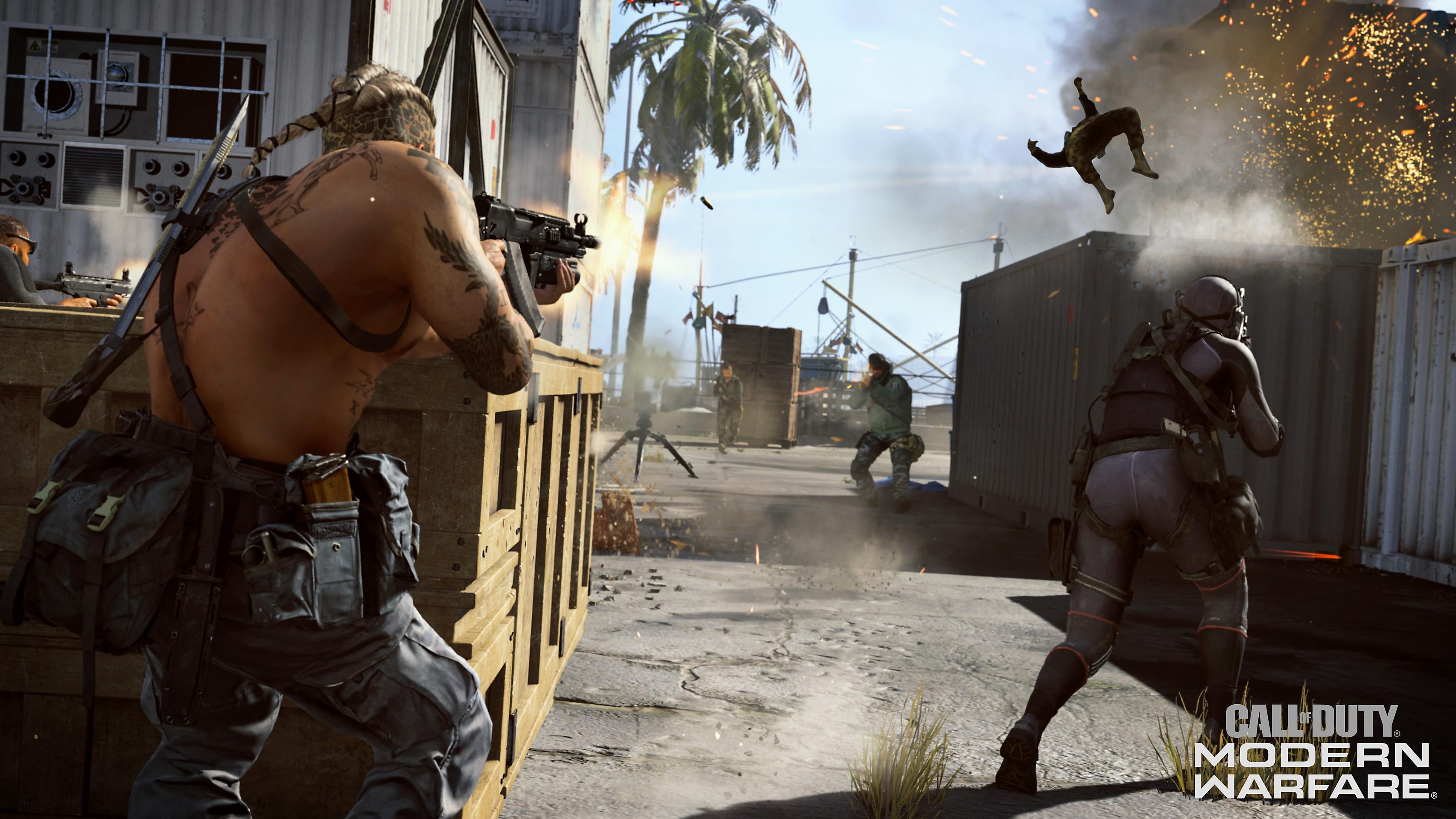 Call Of Duty Modern Warfare Game Ps4 Playstation
