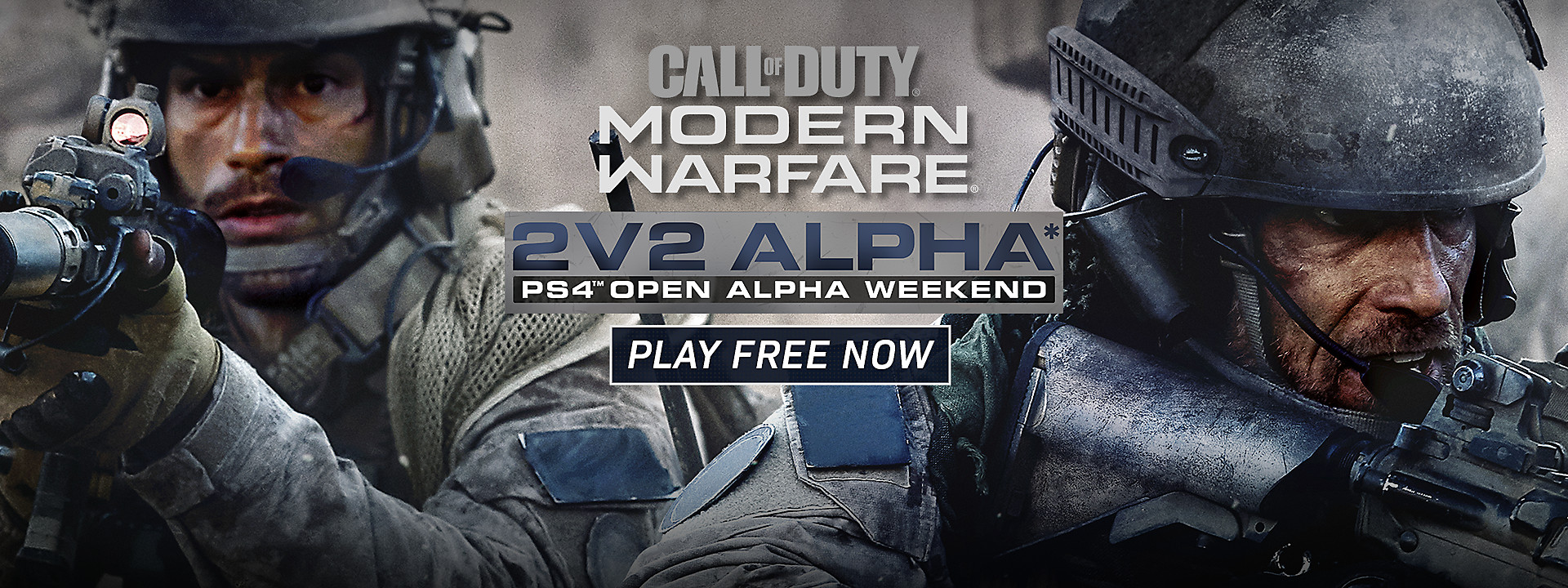 Call of Duty: Modern Warfare - PlayStation-Exclusive 2v2 Alpha Available Now