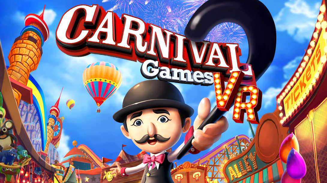 Play or park prizes for carnival games