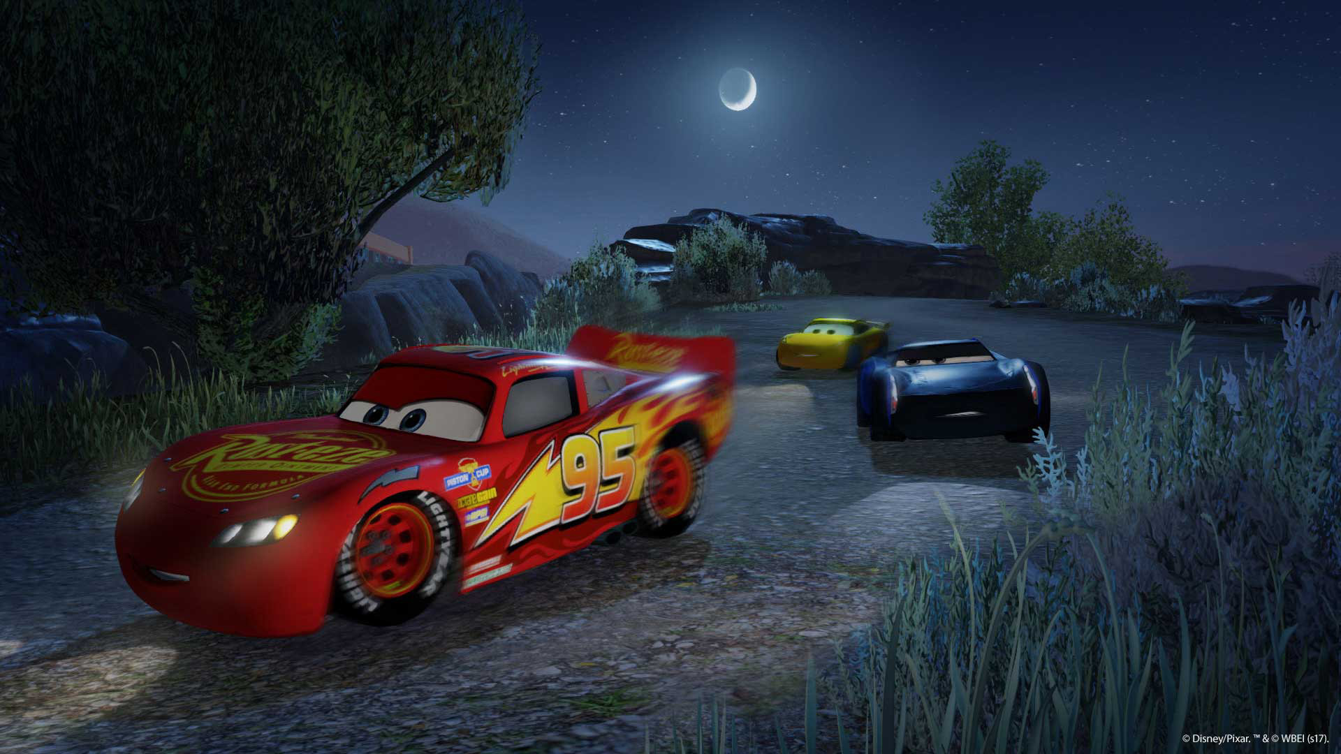 Cars 3 Driven To Win Game Ps4 Playstation