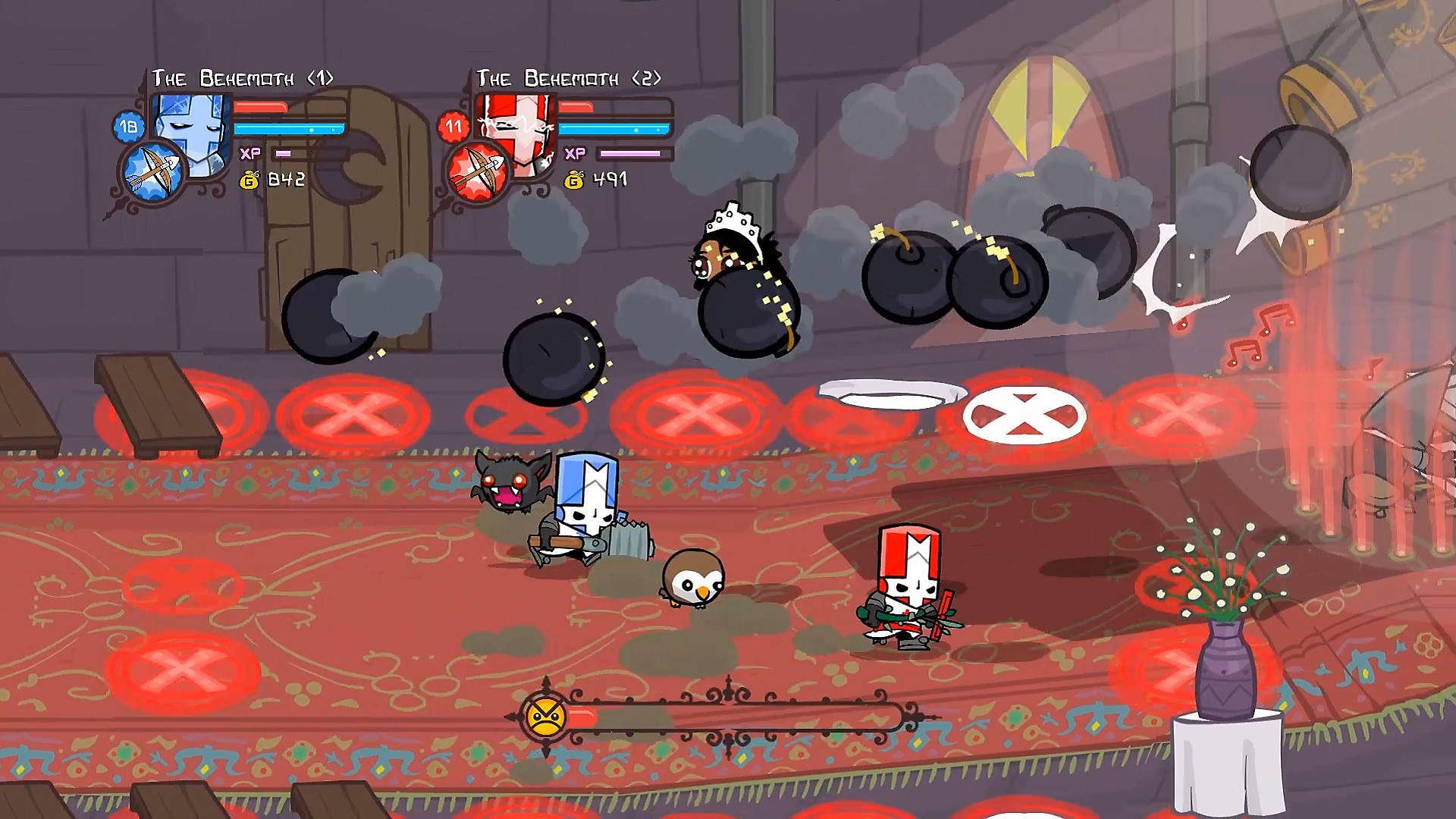 Castle Crashers Remastered en acción