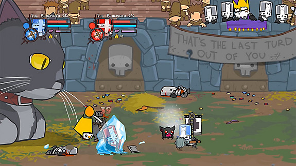 Castle Crashers Remastered - Screenshot INDEX