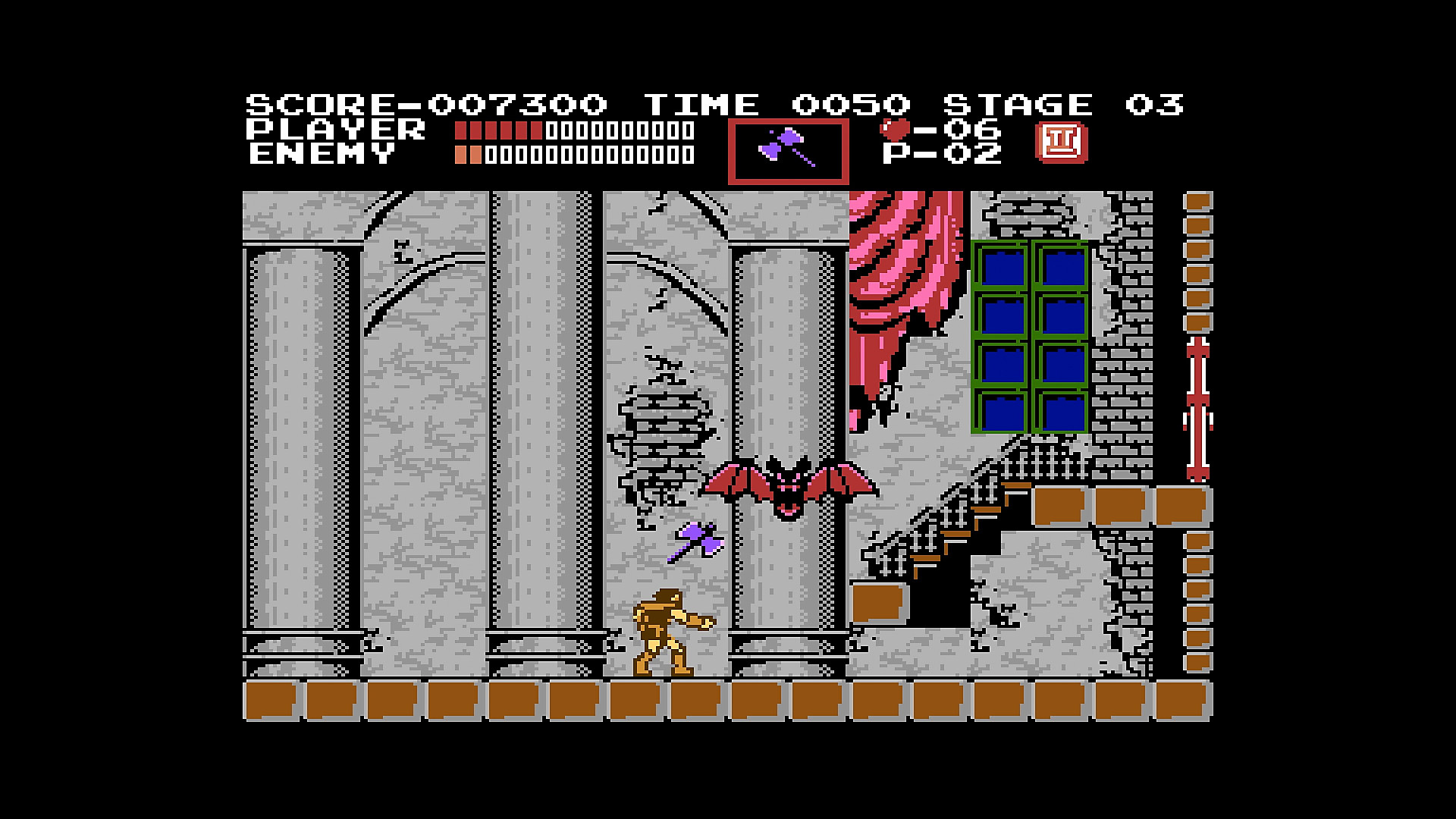 Gameplay de Castlevania Anniversary Collection