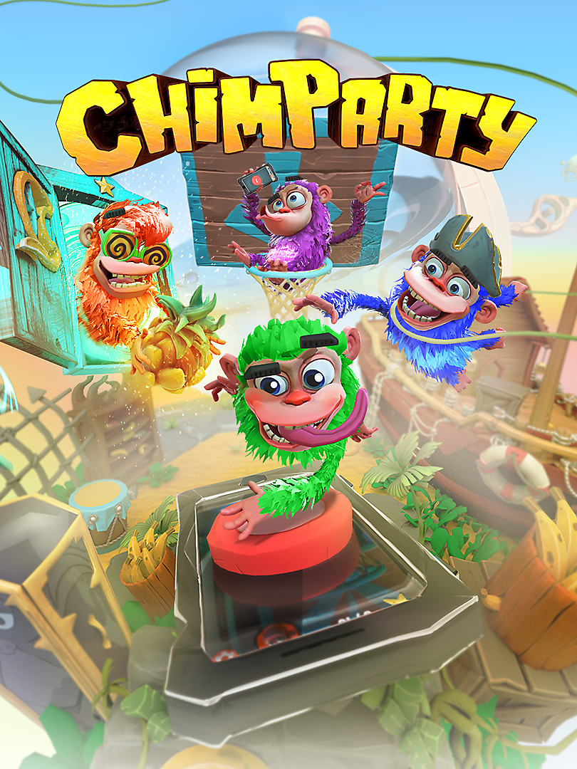 Chimparty Box Art