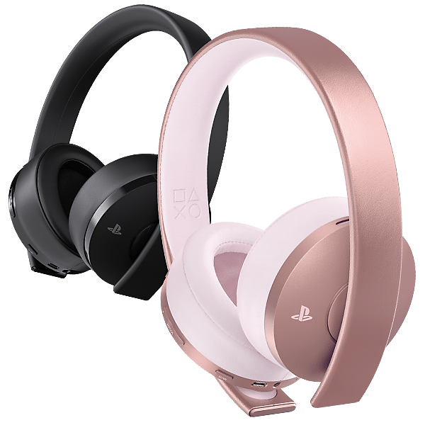 Gold Platinum Headset