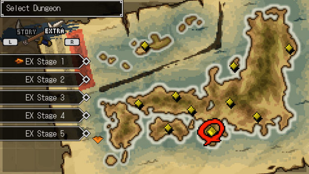 Cladun Returns: This Is Sengoku! Screenshot 1