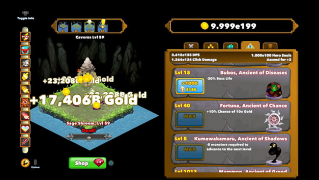 Clicker Heroes Screenshot 1